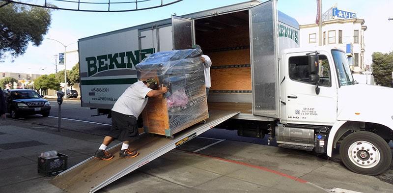 Specialty Moving Company in Marin & Sonoma County