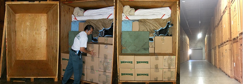 The Storage Process by A and P Moving of Novato CA